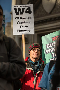 Third Runway Heathrow Legal Challenge Activity in London