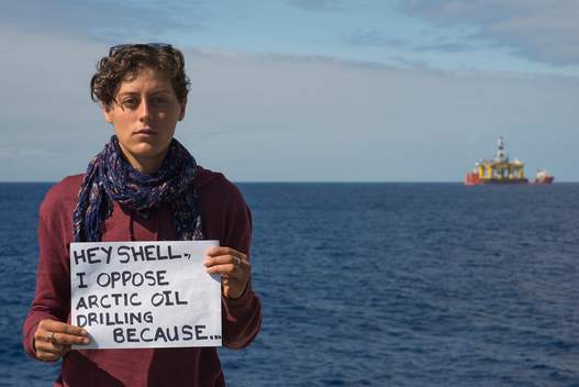 Message to Shell from Activists Aboard the Esperanza