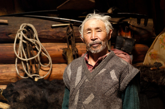 Elderly Man in Siberia