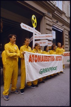 Action against Nuclear Energy in Austria