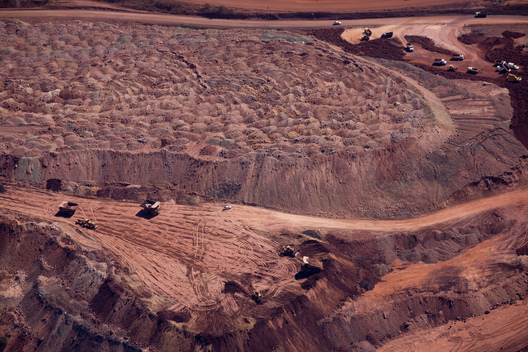 Open Pit Iron Mine in the Amazon