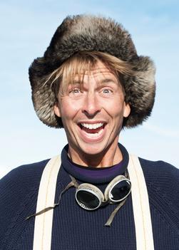 Actor Jack McBrayer in Greenland