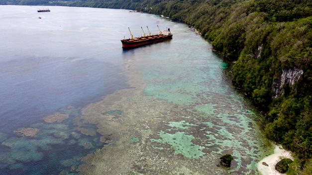 Oil Spill Adjacent to UNESCO World Heritage Site in Solomon Islands