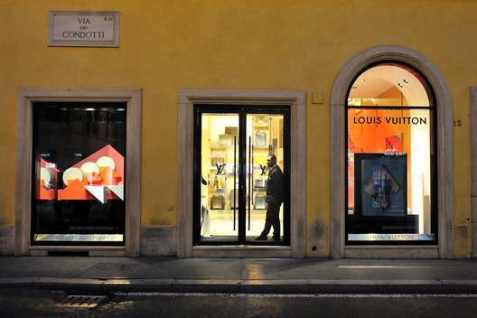 Louis Vuitton Store in Rome
