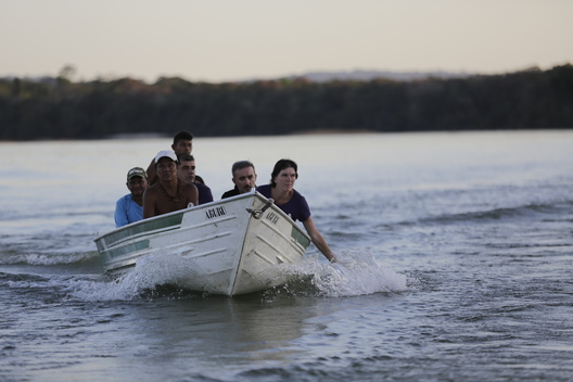 Bunny McDiarmid Visits the Tapajós River to Stand with the Munduruku Indigenous People