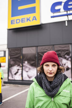 Protest Against Edeka's Meat Policy in Bamberg