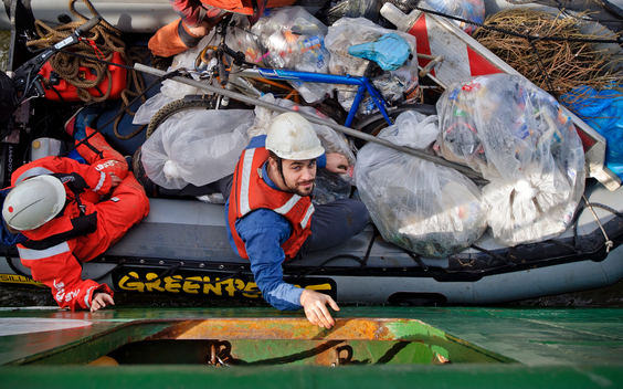 Harbour Clean Up in Rotterdam