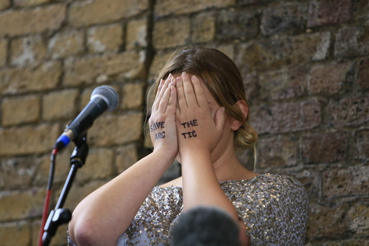 Charlotte Church at Requiem for Arctic Ice in London - Day 18