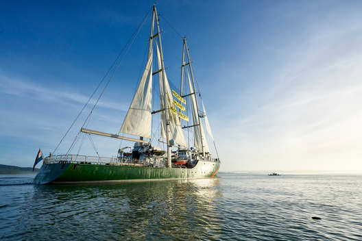 Rainbow Warrior in the Philippines