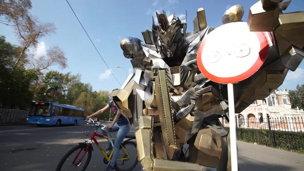 Car Free Day Action in Moscow — Clipreel