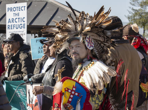 Gwich'in Steering Committee Press Conference in Washington D.C.
