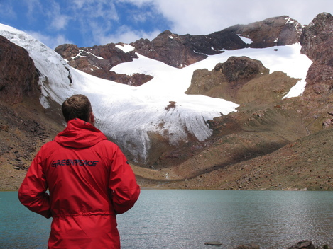 Climate Glacial Retreat Documentation Peru