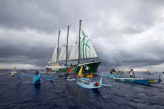 Rainbow Warrior in Philippines