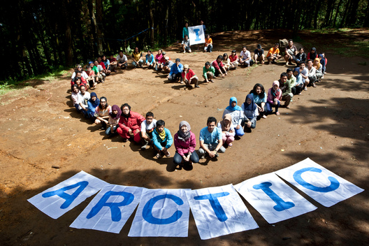 'I Love Arctic' Day of Action in Indonesia