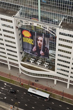 Arctic 30 Action at Shell Office and Sustainability Conference in Rotterdam