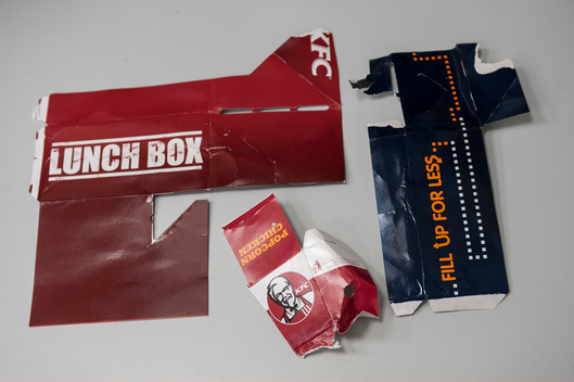 Scientific Tests On KFC Packaging