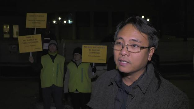 Projection for Climate Justice at COP25 in Madrid - Interview with Yeb Sano