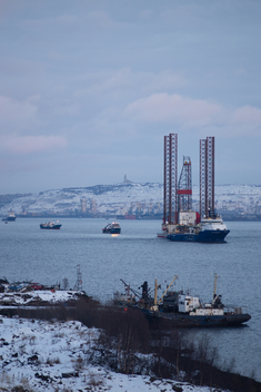 The GSP Saturn Arrives in Murmansk