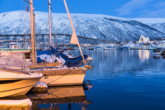 Tromsø Harbor in Norway