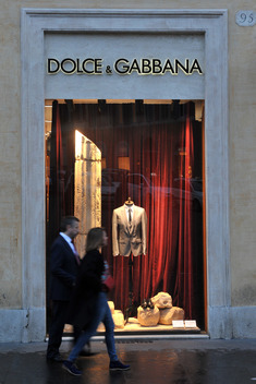Dolce & Gabbana Store in Rome