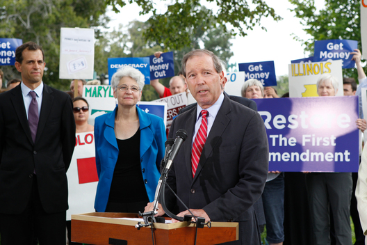 Democracy For All Amendment Rally in the US