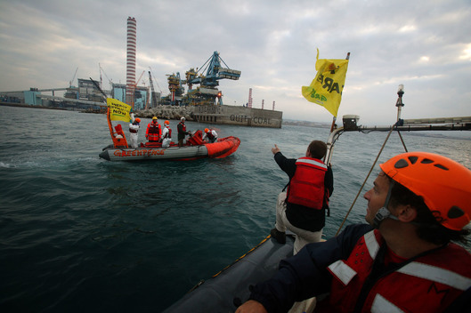 Action against Coal Power Plant in Italy