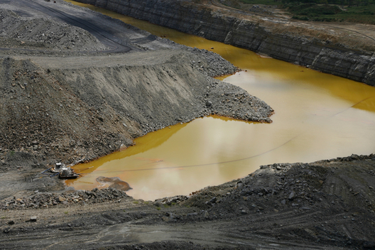 Open Cut Coal Mine in Australia