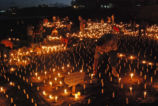Vigil to Protect Olive Ridley Sea Turtle in Mumbai