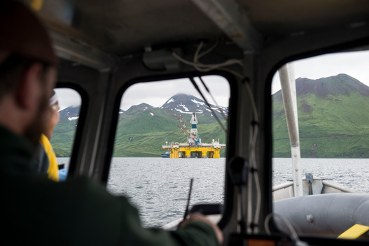 Shell Protests Continue in Unalaska