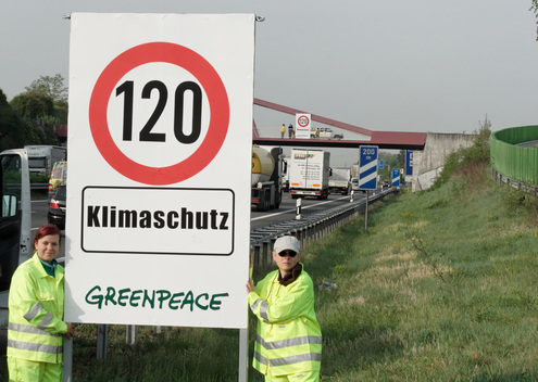 Speed Limit Action in Germany