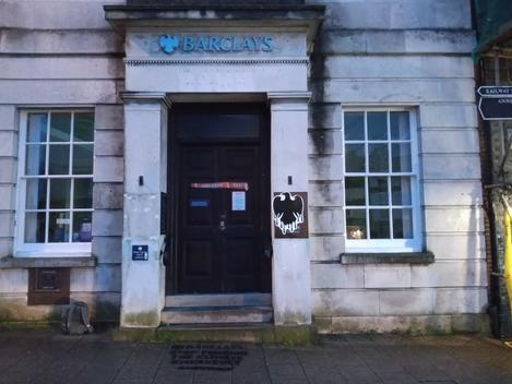 Action against Barclays Bank in Lewes, Sussex