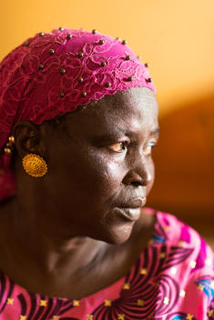 Maimouna Ba, Mother of Lost Fisherman, in Senegal