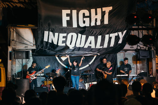 Fighting Inequality Concert in Manila