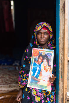 Kine Niang, Wife of Lost Fisherman, in Senegal