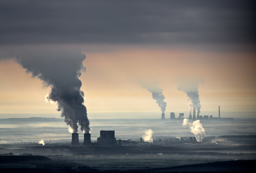 Lausitz Brown Coal Plants in Germany