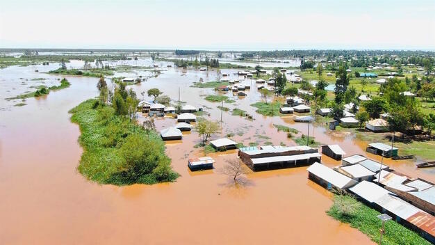 Floods in Migori and Homa Bay Counties in Kenya