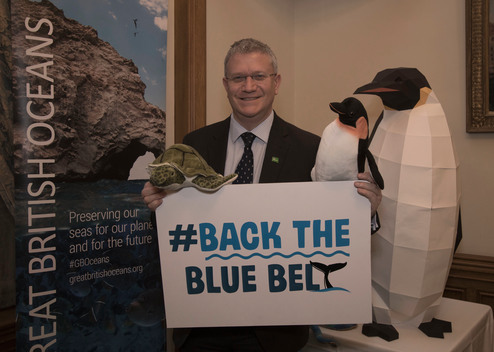 Andrew Rosindell at the Blue Belt Charter Parliamentary Reception in London