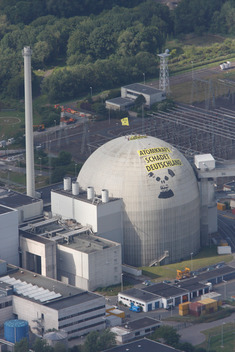 Action at Unterweser Nuclear Power Plant
