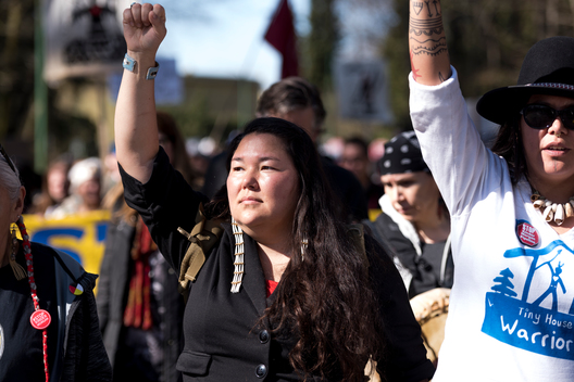 Indigenous-Led March in Metro Vancouver