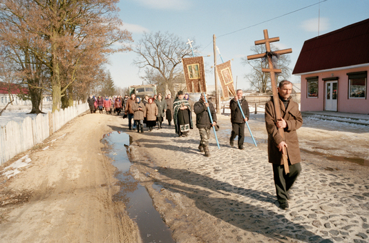 Funeral in Contaminated Village Drozdyn