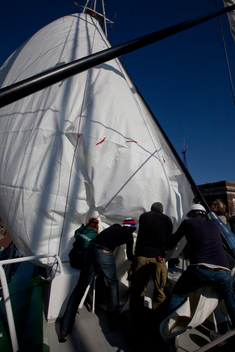 Installing a New Sail