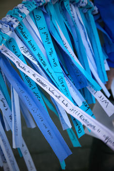 Action with Ribbons at Foreign Ministry in Reykjavik