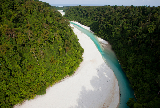 Bairaman River in Papua New Guinea