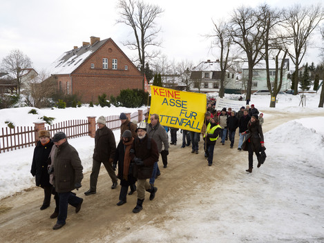 Demonstration against Lignite Mining in Germany