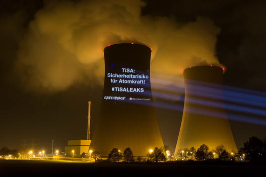 TiSA Projection at the Nuclear Power Plant in Grohnde