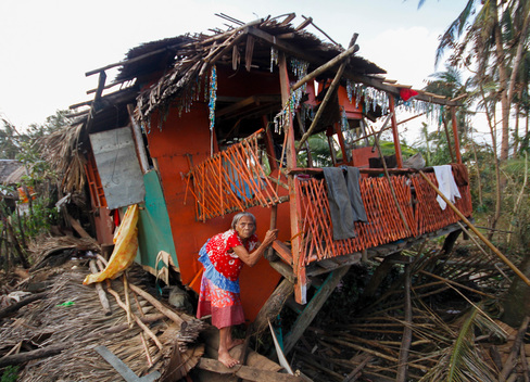 Typhoon Hagupit Devastation in The Philippines