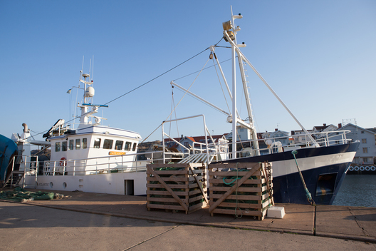 Atlantic Fishing Vessel in Sweden
