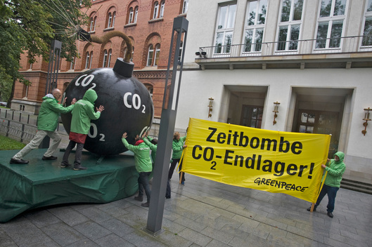 Action against CO2 Storage in Kiel
