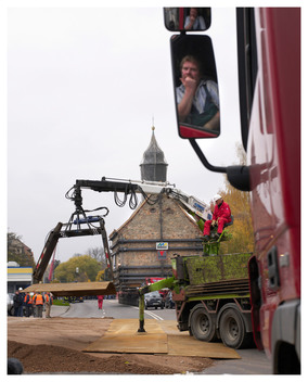 Emmaus Church Moved from Heuersdorf