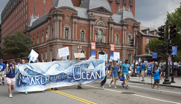 March for the Oceans in Washington D.C.